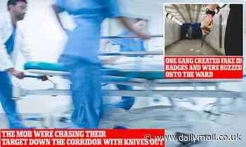 Knife gangs are breaking into hospital wards to finish off their stab victims