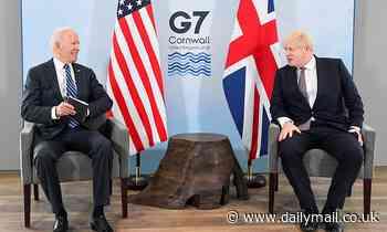 Boris Johnson will fly to the US TODAY to warn Joe Biden on climate deal