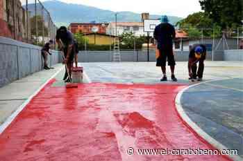 Inician refacciones en canchas deportivas de Naguanagua - El Carabobeño