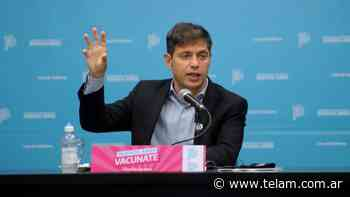 En Florencio Varela Kicillof hará anuncios sobre el plan de vacunación - Télam