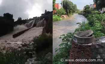 ¡ALERTA! Hacen llamado a pobladores de San Miguel de Allende ante inminentes inundaciones - Debate