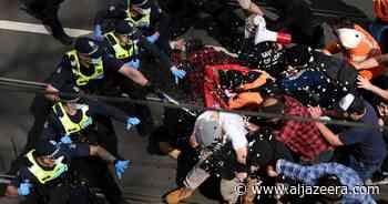 Hundreds arrested in Australian anti-lockdown protests - Al Jazeera English