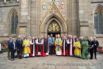 Blackburn Cathedral hosts service for Emmanuel Theological College
