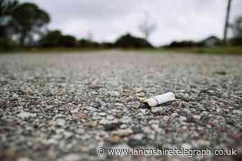 The 12 East Lancashire people fined almost £5,000 for dropping cigarette butts on the floor