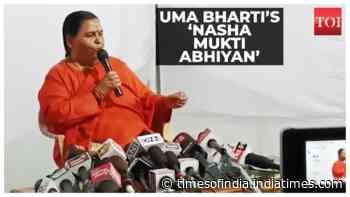 Former CM Uma Bharti speaks on her 'Nasha Mukti Abhiyan' in Bhopal