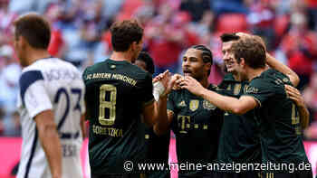 Spektakel zum Wiesn-Auftakt: Der FC Bayern schießt Bochum aus der Arena
