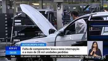Autoeuropa volta a parar a produção em Palmela - RTP