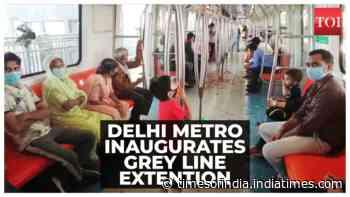 Delhi Metro inaugurates Najafgarh-Dhansa corridor