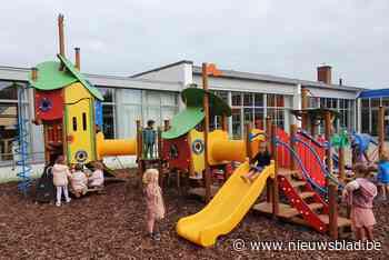Fonkelnieuwe kleuterspeelzone bij basisschool Driessprong (Deinze) - Het Nieuwsblad