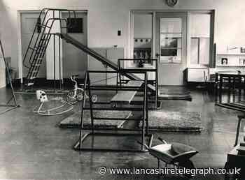 This was a safe play area at Accrington nursery in 1952