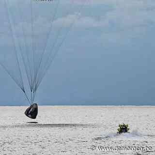 ▶ In beeld: eerste 'burgervlucht' met SpaceX-toeristen veilig geland in Atlantische Oceaan