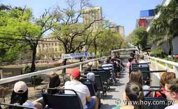 Comuna de Asunción hará tour turístico en bus abierto - Hoy