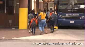 Decenas de migrantes haitianos han llegado a San Antonio en busca de ayuda - Telemundo San Antonio