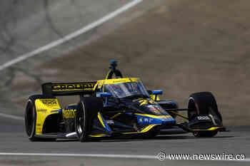 Herta Takes Honda to the Pole at Laguna Seca