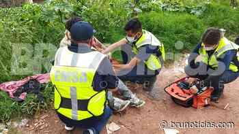 Rescatan a hombre que se arrojó al río Lerma en Santa Ana Pacueco - Brunoticias