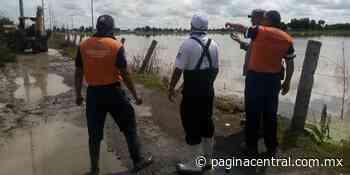 Desbordamiento del Río Lerma inunda 56 casas en Santa Ana Pacueco - Página Central