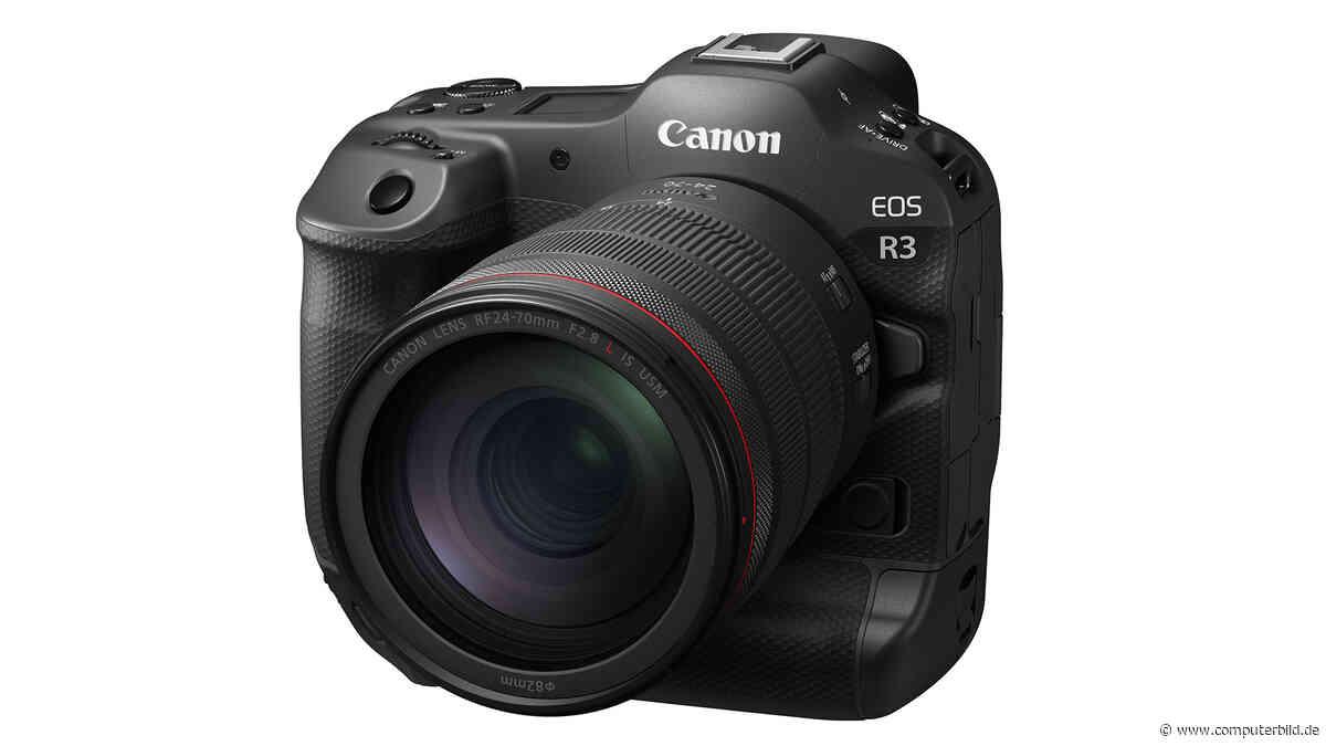 Canon EOS R3: Ultraschnelle Profi-Systemkamera - COMPUTER BILD