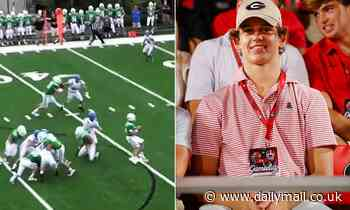 Peyton and Eli Manning's nephew dominates at quarterback as a high school junior in season opener