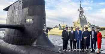 Verteidigung - USA und Australien betonen Partnerschaft mit Frankreich - Wiener Zeitung