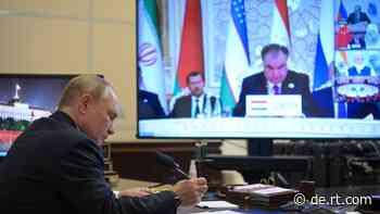Nach Rückzug des Westens aus Afghanistan: Putin plädiert für stärkere eurasische Partnerschaft - RT DE