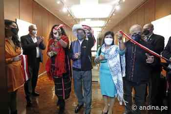 Presidente Castillo participó en exposición sobre Felipe Guamán Poma de Ayala - Agencia Andina