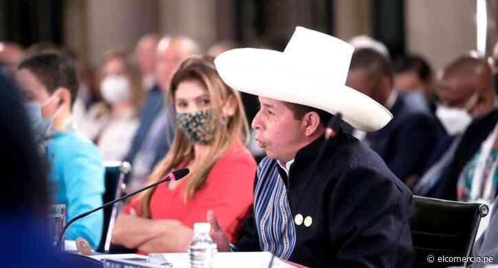Pedro Castillo: conoce las actividades que realizará el mandatario este domingo 19 en su gira internacional - El Comercio Perú