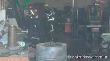 En San Salvador un mecánico sufrió heridas de consideración tras una explosión cuando soldaba - EntreriosYa