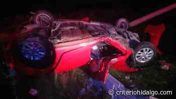 Muere por accidente automovilístico esta madrugada en San Salvador - Criterio Hidalgo