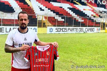 Coatepeque presentó a Mingorance – Guatefutbol.com - Guatefutbol.com