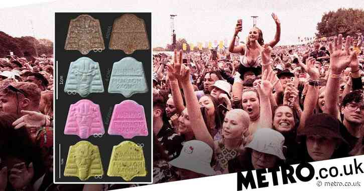 Four different drugs found in 'Pharaoh' MDMA pills at Parklife festival