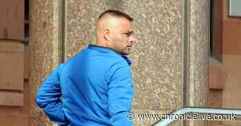 Dunston thug threw lampshade in girlfriend's face after argument over her child