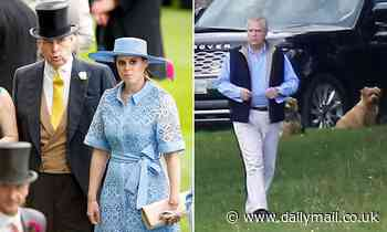 Prince Andrew 'is set to leave Balmoral to see pregnant Princess Beatrice in London hospital'