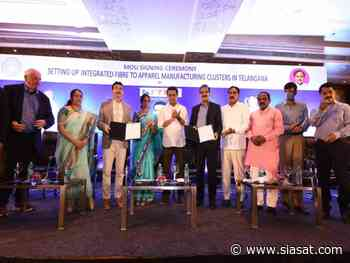 Telangana govt, KITEX group sign MoU; 22K people to get jobs - The Siasat Daily