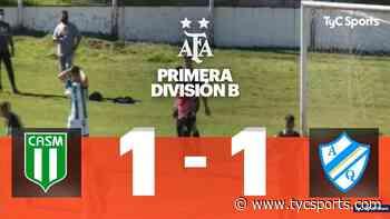 San Miguel y Arg. de Quilmes se repartieron los puntos en un 1 a 1 - TyC Sports
