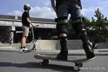 Protest tegen skateverbod op Scheldekaaien: 'Skaten in de stad is een creatieve uitdaging'