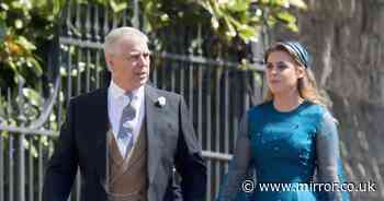 Prince Andrew will 'leave Balmoral hideaway to see pregnant Beatrice in hospital'