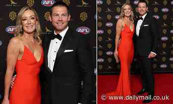 Ben Cousins leads the arrivals at the Brownlow Medal AFL Australia