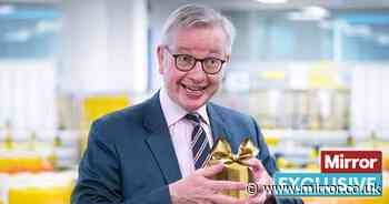 Boris sends in Tory turkey Michael Gove to save Christmas from food and toy crisis - The Mirror