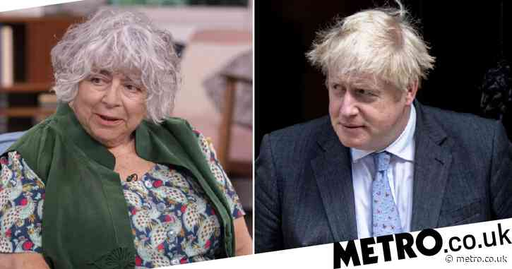 Miriam Margolyes takes aim at Boris Johnson again and this time wants him castrated