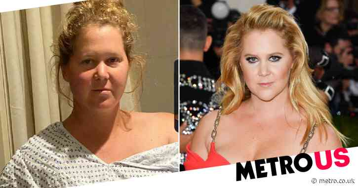 Amy Schumer undergoes surgery for endometriosis as she gets uterus removed