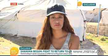 Shamima Begum 'vows to never name other Brits who joined ISIS' as she begs to come home