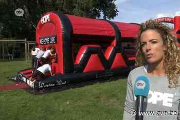 Topdag voor leerlingen Burchtse Weel: school krijgt springkasteel cadeau - Gazet van Antwerpen