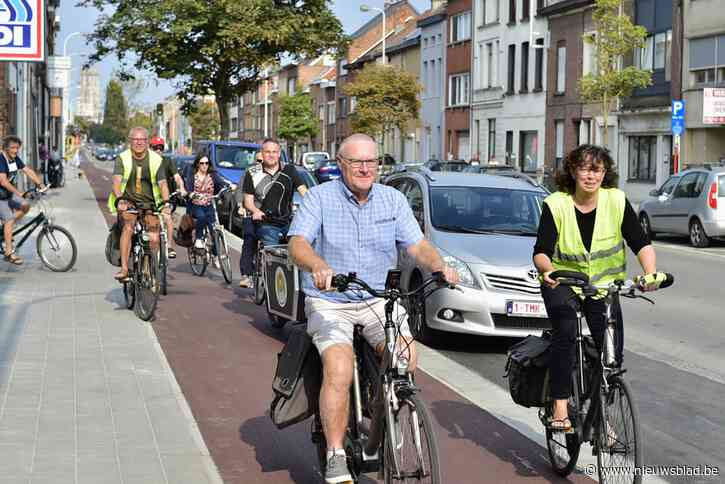"""Fietsersbond Mechelen op Autovrije Zondag: """"Laat fietspad Leuvensesteenweg voorbeeld zijn voor alle nieuwe projecten"""""""