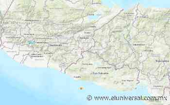 Sismo de 5.3 con epicentro en el océano Pacífico sacude El Salvador | El Universal - El Universal