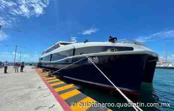 Barcos de Xcaret listos para iniciar operaciones en cruce Cancún-Isla Mujeres - Quadratin Quintana Roo - Quadratín Quintana Roo