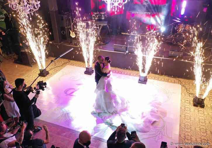 La boda eclesiástica de Daniela Alvarado y José Manuel Suárez