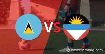 Santa Lucía golea 8-0 como local a Antigua y Barbuda - infobae
