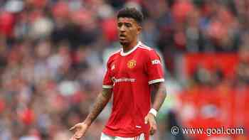 Sancho dropped to the bench for Manchester United's clash with West Ham
