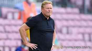 Koeman doesn't fear sack at Barca amid rumours