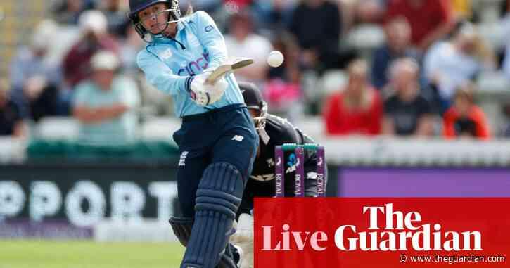 England set New Zealand 198 target to win second women's ODI – live!